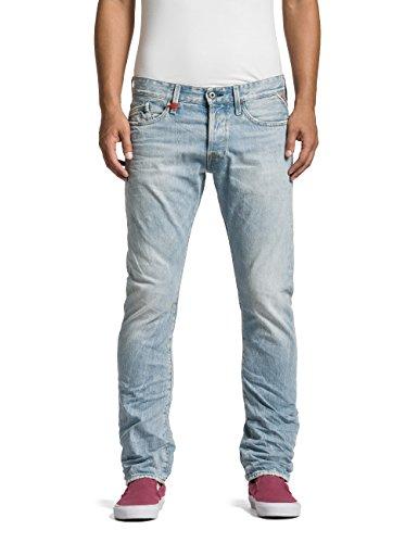 Replay M983 .000.118 550 - Jeans - Droit - Homme Bleu (Blue Denim 10)