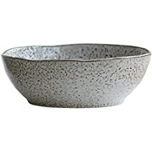 House Doctor - Bowl, Schüssel, Schälchen - Rustic - grau/braun - Ø 21,5 cm - Keramik - Handmade