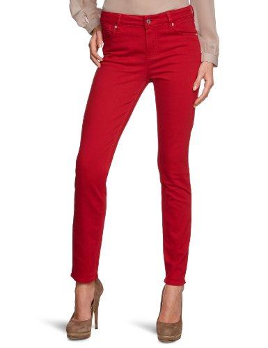 Rosner Damen Jeans Normaler Bund 00970 Anny-Pipe_021, Gr. 40/32, Rot (chilli 560)