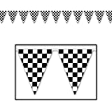 Checkered Pennant Party Banner for Party Decoration