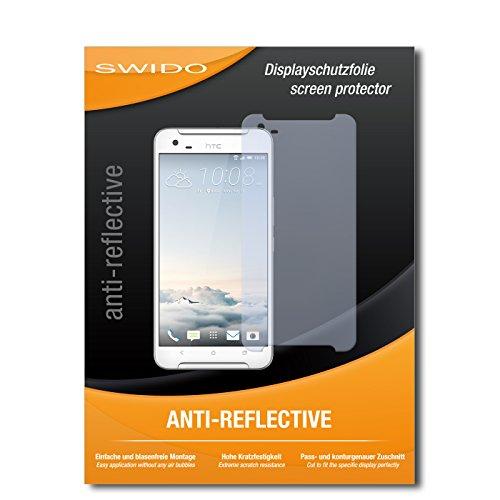 SWIDO Bildschirmschutz für HTC One X9 [4 Stück] Anti-Reflex MATT Entspiegelnd, Hoher Härtegrad, Schutz vor Kratzer/Glasfolie, Schutzfolie, Bildschirmschutzfolie, Panzerglas Folie