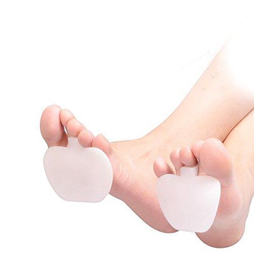 AGIA TEX Germany 2x Schuhpads für entspannte Füße in High Heels | Silikon Gel-Einlegesohlen mit 3mm Polsterung schützt vor Druckstellen & Reibung | wiederverwendbar für Damen, Herren und Kinder