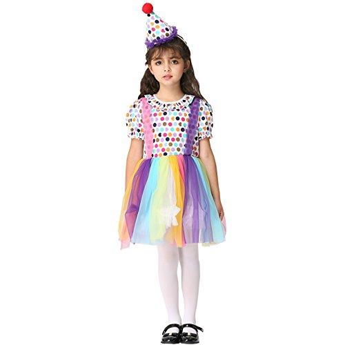 Halloween und Fasching Mädchen Cosplay Leistungskleidung Rollenspiel-Clown-Anzug (Anzug Cosplay Man Spider)
