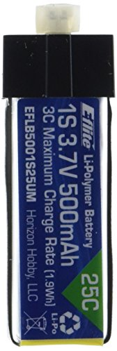 Hobby Zone EFLB5001S25UM Chargeur Noir, Bleu, Argent