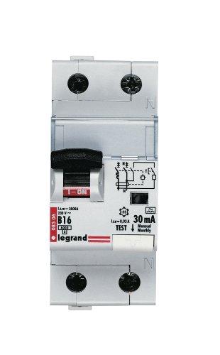 Legrand 008506 FI/LS B 16A 1+N 30MA TYP A