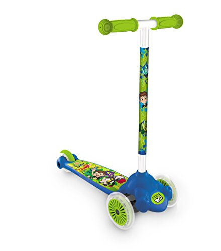 Welt 18438 – Scooter 3 Räder Twist and Roll Ben 10 (Ben 10 Roller)