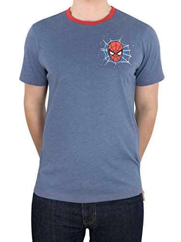 Spiderman Marvel Spider-Man Herren T-Shirt X-Large
