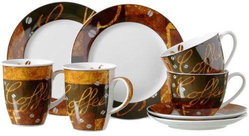 Ritzenhoff & Breker Kaffee- und Cappuccino-Set Chile,  8-teilig