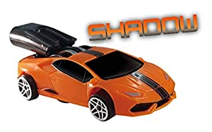 Whistle Racer WR1SWBC2 - Coche de Sombra de Juguetes, Color Naranja