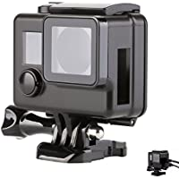 SHOOT Skeleton Side Open Protective Housing Case Shell Cover for GoPro Hero 3+/4 Camera