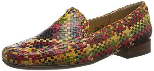 Sioux Damen Cordera Mokassin, Mehrfarbig (Multicolour 009), 36 EU