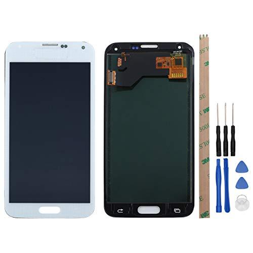West Dragon LCD Touchscreen für Samsung Galaxy S5 Display Ersatz Bildschirm Komplettes mit Werkzeuge für Samsung Galaxy S5 G900F (Weiß) (Galaxy S5-bildschirm Schwarz)