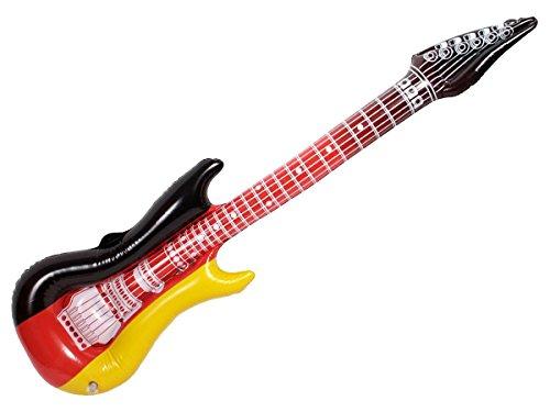 Preisvergleich Produktbild Alsino aufblasbare Luftgitarre 00 / 0828 Deutschland 100 cm Luftgitarren Air Luft Guitar Fanartikel