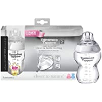 Tommee Tippee Closer to Nature 260ml/9fl oz feeding bottles (3-pack)