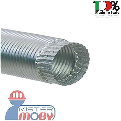 Mistermoby Tubo Alluminio Estensibile Fino a 3 Metri per Stufe,