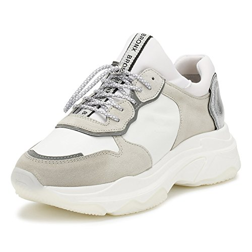 Bronx 66167-A Damen Sneakers Weiß, EU 39