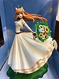No Bellissimo Regalo Anime 24 cm Anime Action Figure Marchant Mcats Speziato Lupo Spezia e Lupo Holo Weiß Jäten Kleid Ver Modell Schönheit Mädchen