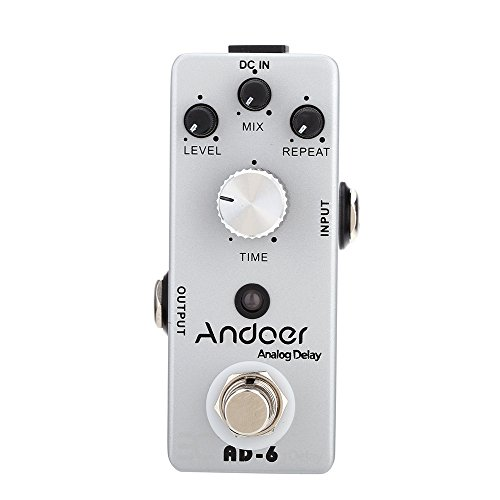 ANDOER TC 31 A 6 ANALOG DELAY TRUE BYPASS EFECTO DE GUITARRA