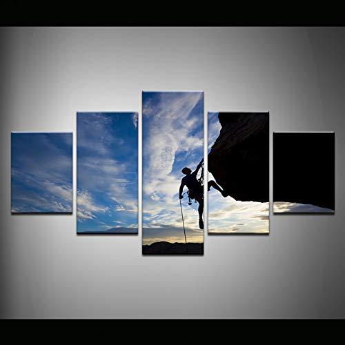 VCTQ 5 aufeinanderfolgende Gemälde 5 Bilder von Wand leinwand gemälde drucke Poster Halo 5 Guardians VideokunstModulare leinwand wandkunst Quadros Dekoration