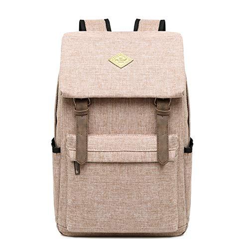 QIAN Schulrucksack Life Hiking Rucksack für Mädchen Schultasche Jungen Sporttasche Leichter Daypack,Khaki