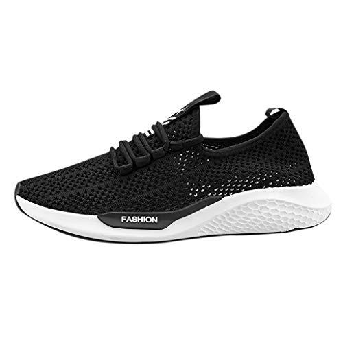 NISOWE Chaussures De Sport Tout-Aller pour Hommes Chaussures De Course Camouflage Respirant Chaussures De MaréE Basse Basket Running