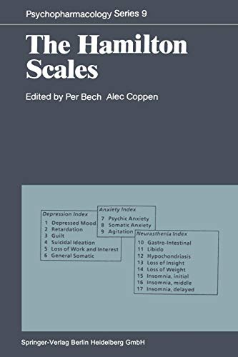 The Hamilton Scales (Psychopharmacology Series)