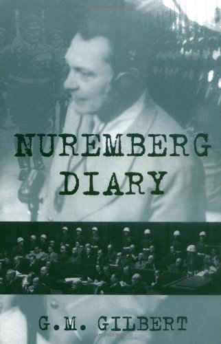 Nuremberg Diary by Gilbert, G. M. unknown Edition [Paperback(1995)]