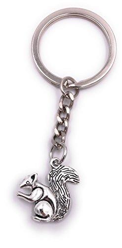 hen Schlüsselanhänger Anhänger Silber aus Metall ()