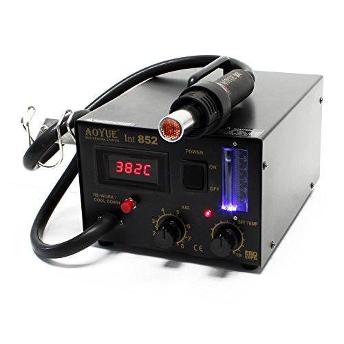 Preisvergleich Produktbild AOYUE Int852 SMD Rework Station digitale Heißluftlötstation mit Membranpumpe