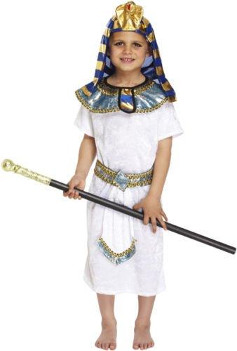 hes Pharaoh-Kostüm für Kinder, Alter 4 - 12 Jahre, Welttag / -Woche des Buches ()