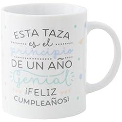 Mr.Wonderful - Taza Esta taza es el principio de un año genial ¡feliz cumpleaños!