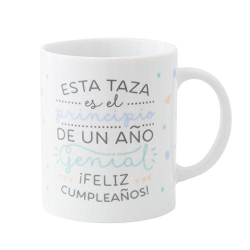 Mr.Wonderful - Taza Esta taza es el principio de un año genial ¡feli