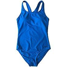 Eono Essentials, costume da bagno intero, da donna, taglia M, colore blu