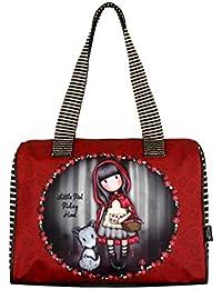 29ea669178 Santoro Gorjuss Sac à main Little Red Riding Hood Sac baril 41 x 26 ...