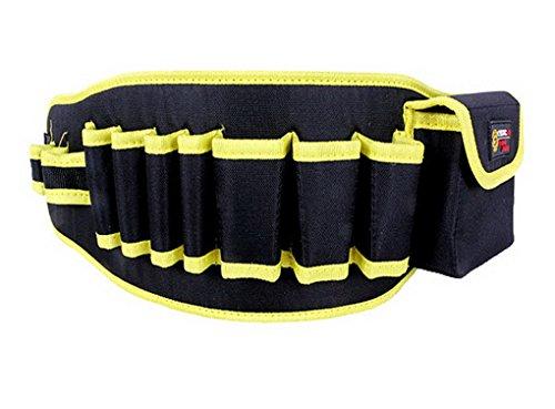 ACMEDE Werkzeuggürtel mit einer Tasche und 9 Halterungen,aus 600d Oxford,verstellbarer...