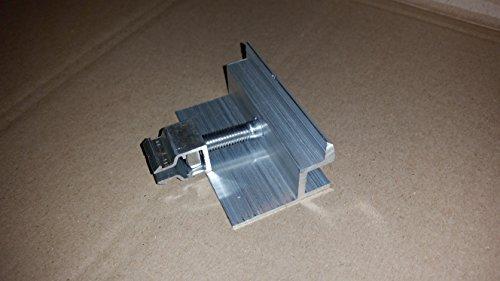 PROFINESS KlickFix-Modul-Endklemme, komplett vormontiert zur Befestigung von Photovoltaik-Modulen, Rahmenstärke 40mm Photovoltaik-modul