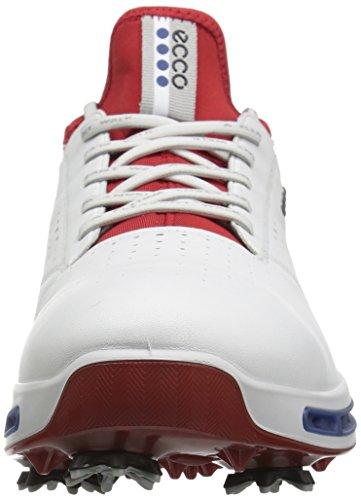 ECCO - Cool, Scarpe sportive Uomo Bianco (bianco / rosso)