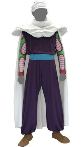 Dragon Ball Kai Piccolo Cosplay Kostüm Set Free Size