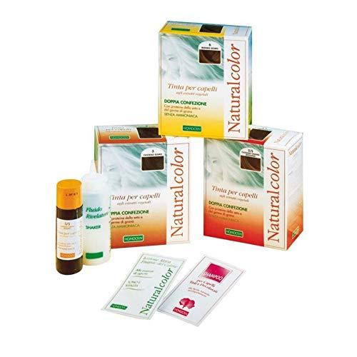 Haarfärbemittel Colorazione Permanente Vegetale Senza Ammoniaca Homocrin Naturalcolor N.3 Colore Castano Scuro