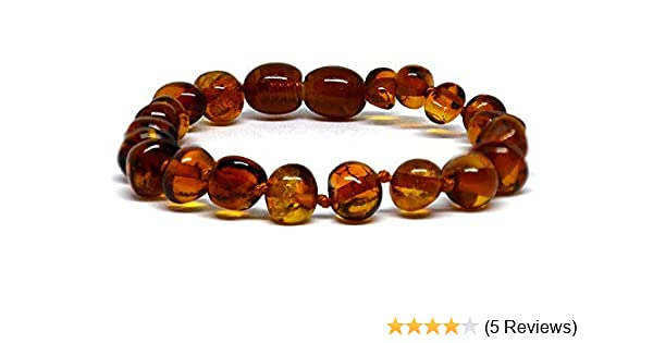 Beads Knotted sizes 14-25 cm various colours Baltic Amber Bracelet//Anklet