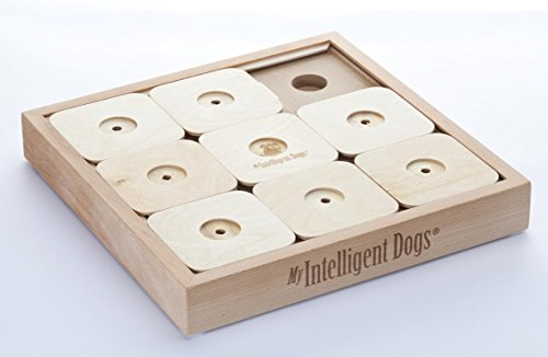 My Intelligent Dogs Mid de XL9 Inteligencia Juguete, Dog 'Sudoku Profesional X9, XL