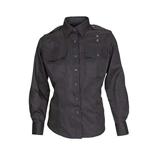 5.11DAMEN Klasse A Twill PDU Long Sleeve Shirt, damen, Silver Tan, M-Regulär (Twill Tan Shirt)