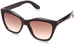 Fastrack Gradient Square Womens Sunglasses - (C075PR1F|53|Purple Color)