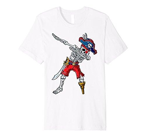 (Sanftes Skelett Pirat T-Shirt Kids Jungen Jolly Roger Totenkopf)