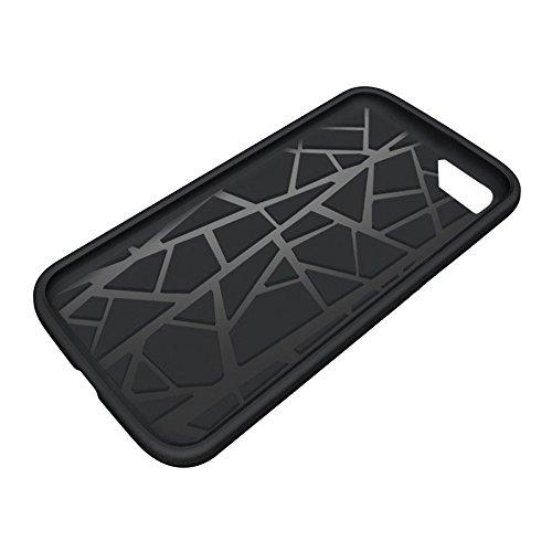 Orzly® Grip-Pro Case für das iPhone SE (2016) iPhone 5S (2013) & iPhone 5 (2012) Smartphone / Handy – Eine haltbare & superleichte Schutzhülle / Handyhülle / Case / Cover / Handytasche mit zwei getren SCHWARZ Grip-Pro Case für iPhone 5 / 5S / SE