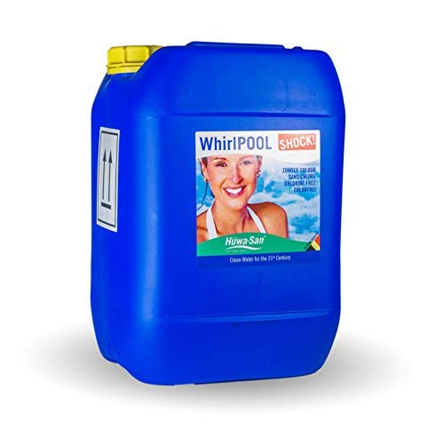 Huwa-San Whirlpool Shock Whirlpoolreiniger Systemreiniger (flüssiger Aktivsauerstoff, 10L)...