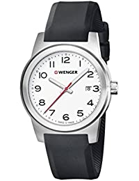 WENGER Herren-Armbanduhr SPORT DYNAMIC FIELD COLOR Analog Quarz Silikon 01.0441.148