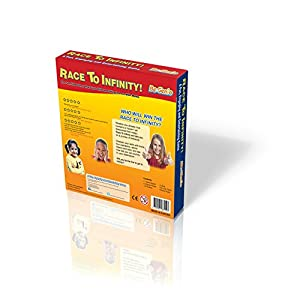 Fun Maths Board Game– RACE TO INFINITY™- Increases Your Child Confidence Quickly- Easy Way to Learn 1–12 TimesTable and Best Way to Practise Addition and Subtraction, Multiplication and Division- Cool Maths Game for Kids- Perfect for 6 to 13 Year ol