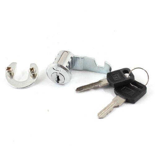 Garderobe Kabinett Sicherheitsschließzylinder Cam Lock w 2 Schlüssel
