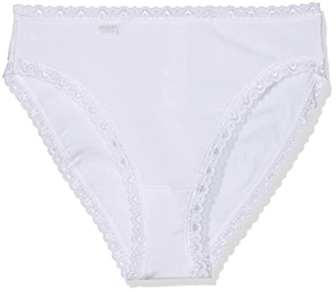 Sloggi Damen Slip 24/7 Cotlac TAC3, Weiß (White 03),